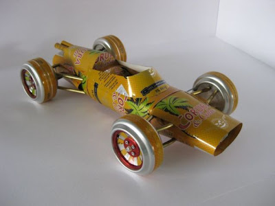 HILARIOUS CARS ART MADE FROM ALUMINIUM CANS Seen On www.coolpicturegallery.us