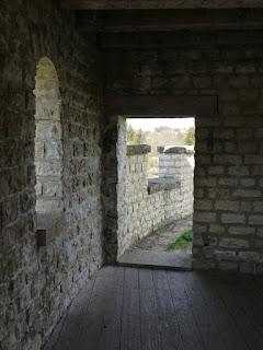 Kastell Pfünz - im rekonstruierten Nordwestturm