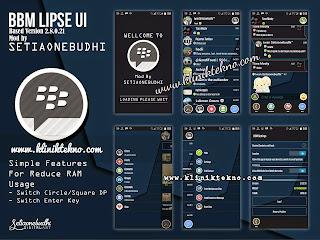BBM Mod Terbaru Lipse UI Apk v2.8.0.21 Irit RAM by Iwan Siswanto Setiaonebudhi