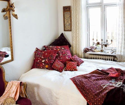 Bohemian Bedroom Inspiration moon to moon: bohemian bedroom inspiration