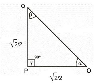 trigonometria uazuay funcion del angulo de 45 grados