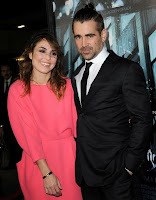Noomi Rapace and Colin Farrell at the premiere of 'Dead Man Down'