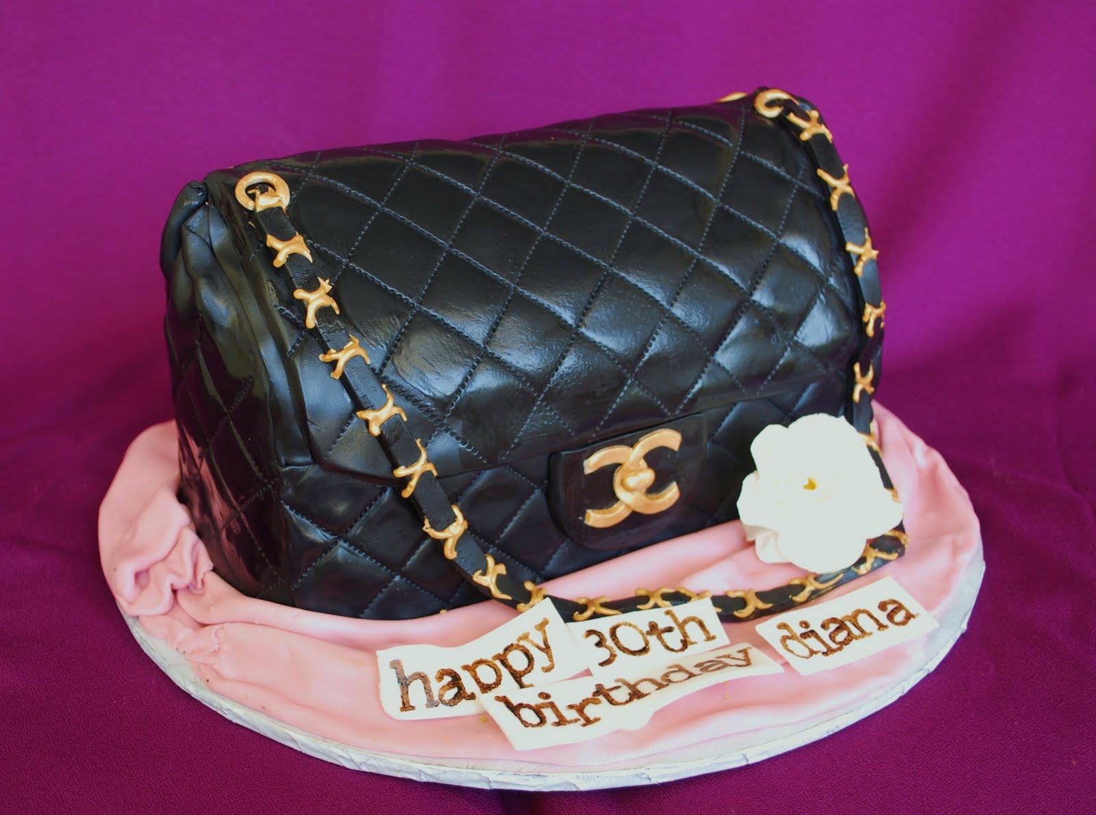 The Beehive: Designer Handbag Cake
