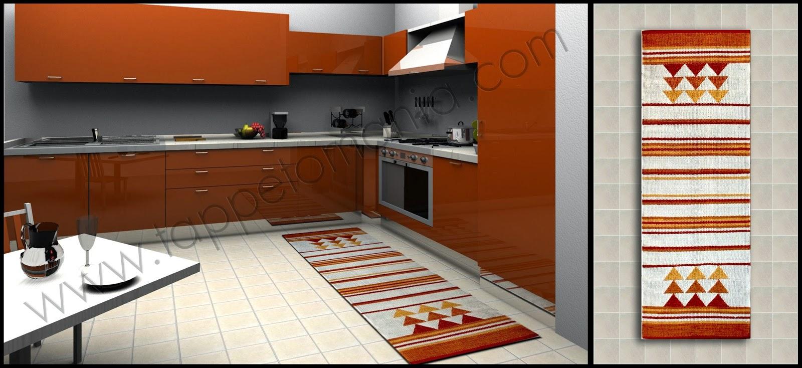 Tappeti x cucina tappeti tappeti cucina stuoie cucina - Tappetini da cucina ...