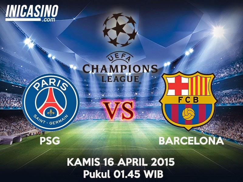 Prediksi Bola PSG vs Barcelona 16 April 2015