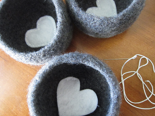 Tangled Happy Felted Crochet Bowl