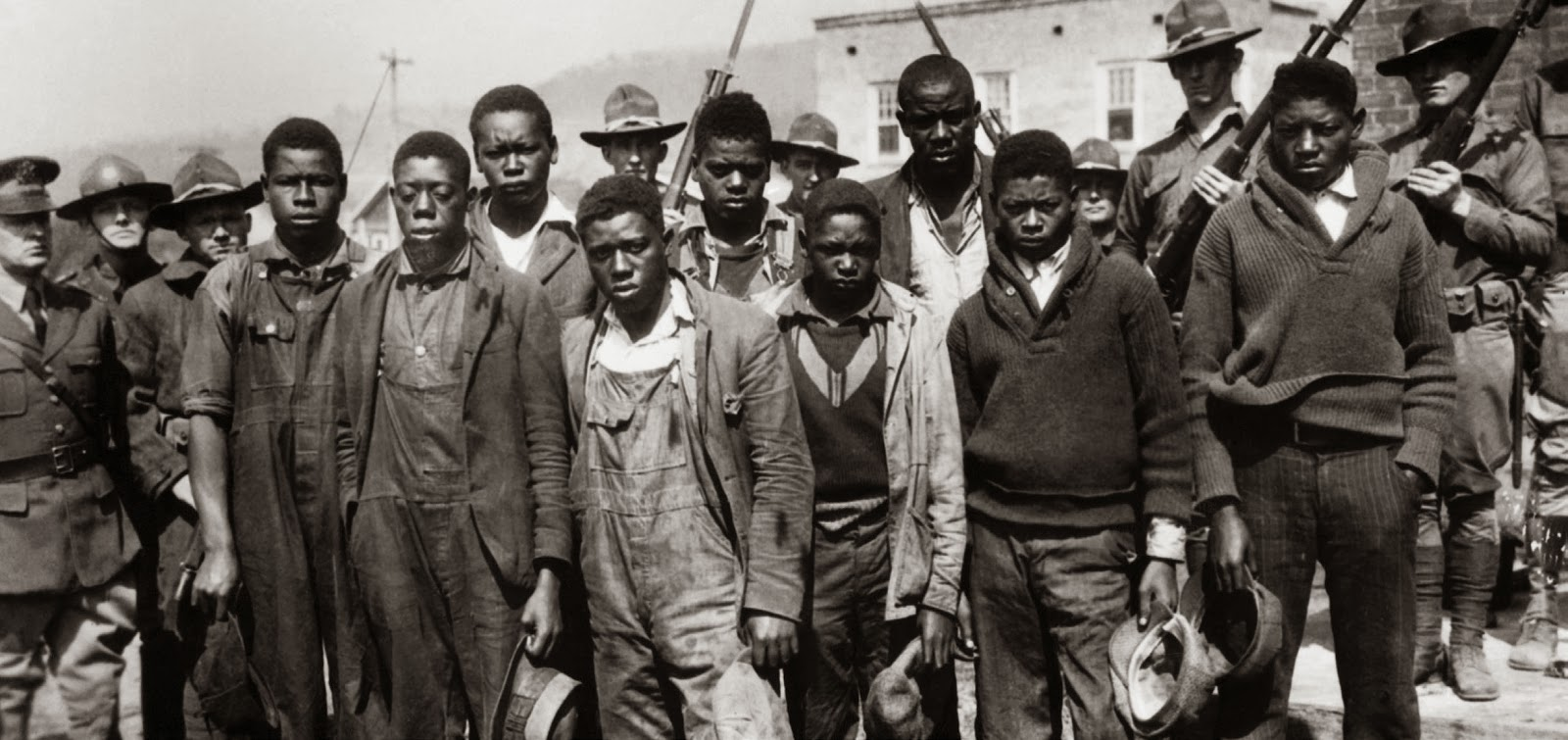 the scottsboro boys The scottsboro boys' trials race, gender, and lies imagine that you are driving  down the street when suddenly a group of strangers pull you out of the car and.