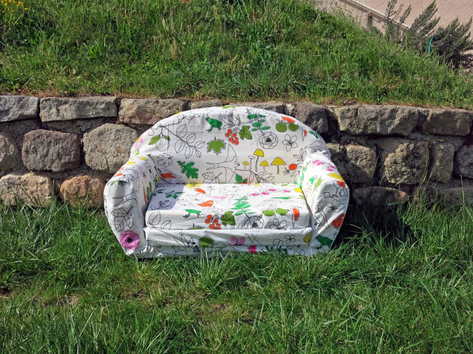 L 39 atelier de kalua un nouveau fauteuil pour les enfants for Coudre housse fauteuil