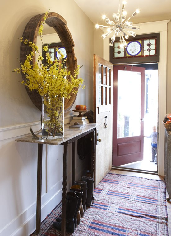 Auction Decorating: Always entryways! 'at auction'