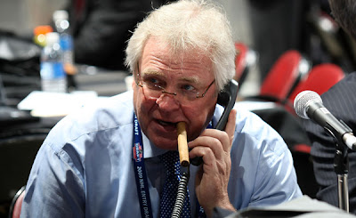 glen sather rangers cigar