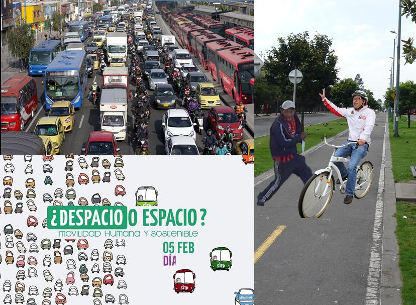 Día sin carro Bogotá 2015