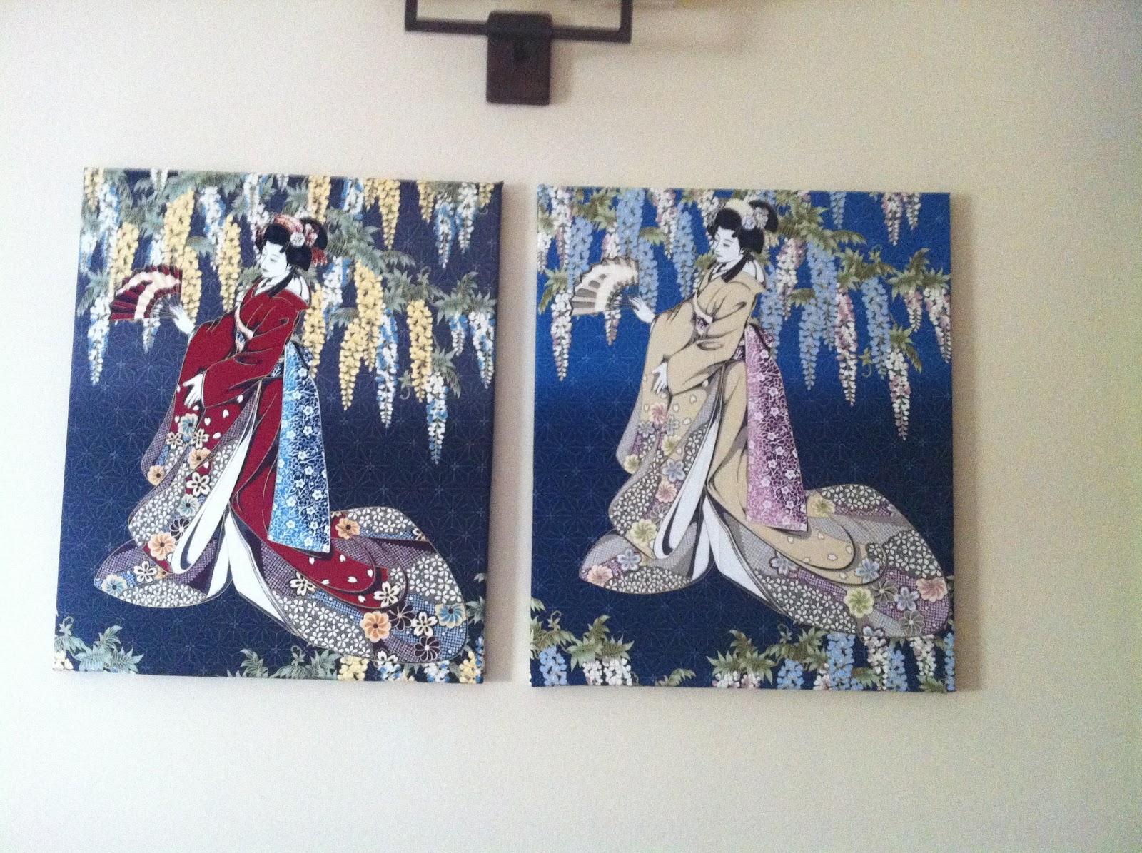 Un balcon para mirar y una rosa para dar cuadros de geishas - Colgadores de cuadros ...