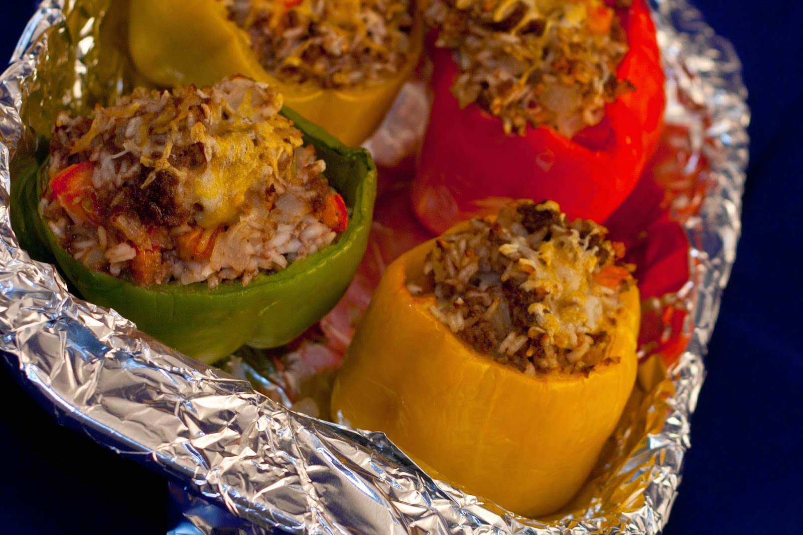 Stuffed Bison Peppers
