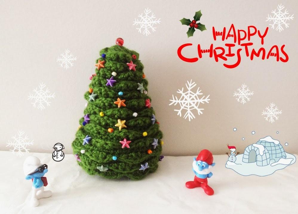 Amigurumi Christmas Tree Patterns : :: Ahmaymet Amigurumi ::: Mini Christmas tree amigurumi
