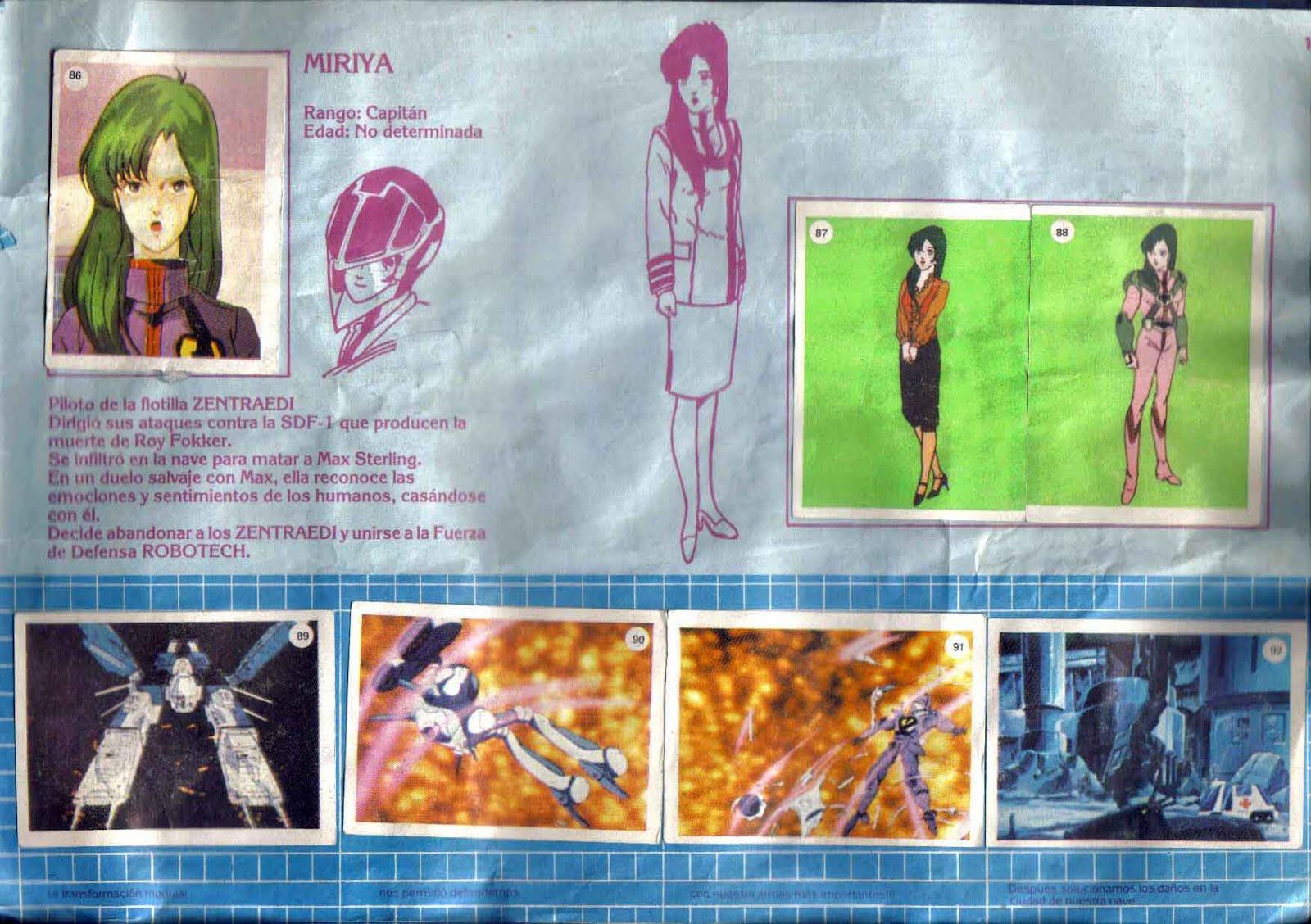 Album Robotech (1985)