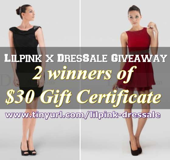 Win $30 GC from DresSale.com