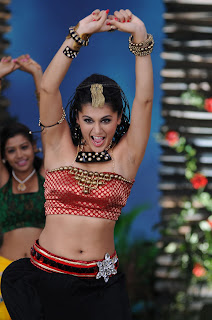 Tapsee Panu Sizzling Spicy Dance Pics from movie Daruvu