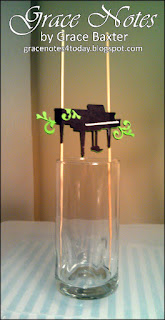 Grand Piano Pick for Centrepiece, by Grace Baxter