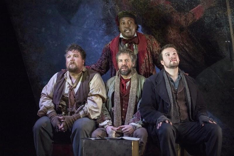 La Boheme - English Touring Opera - © Richard Hubert Smith