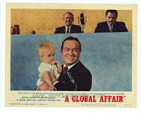 American lobby card for the film A Global Affair
