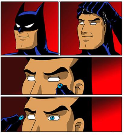 Los ojos de batman