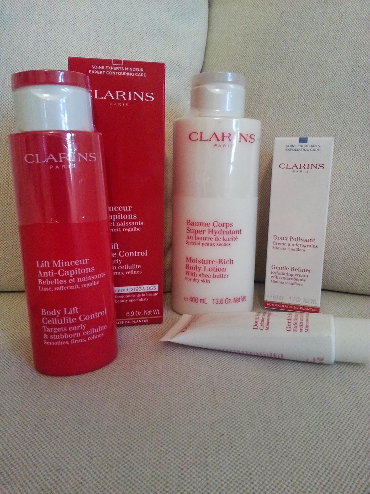 clarins hudvård bra