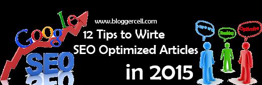 Write SEO Friendly Blog Posts