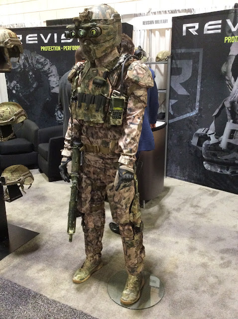 Revision Military's Powered Exoskeleon With Rifle Proof Armor