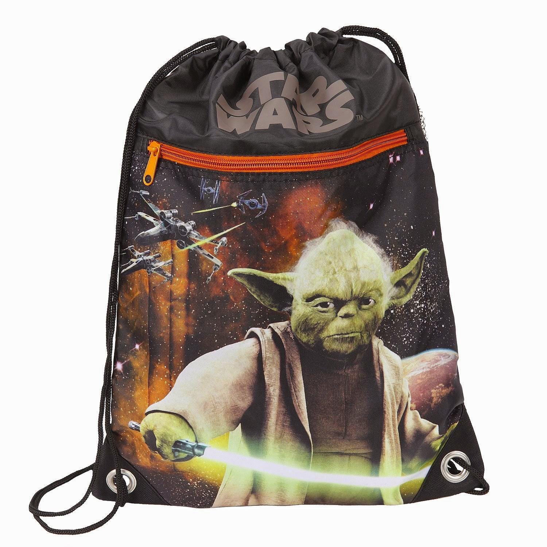Mochilas de cuerdas Star Wars Yoda