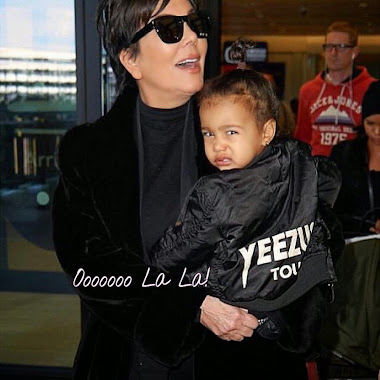 North West Got That #KanyeFace ... Stuntin' Like Her Daddy!