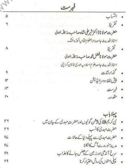 Index page 1 of Teesri Jange Azeem aur Dajjal
