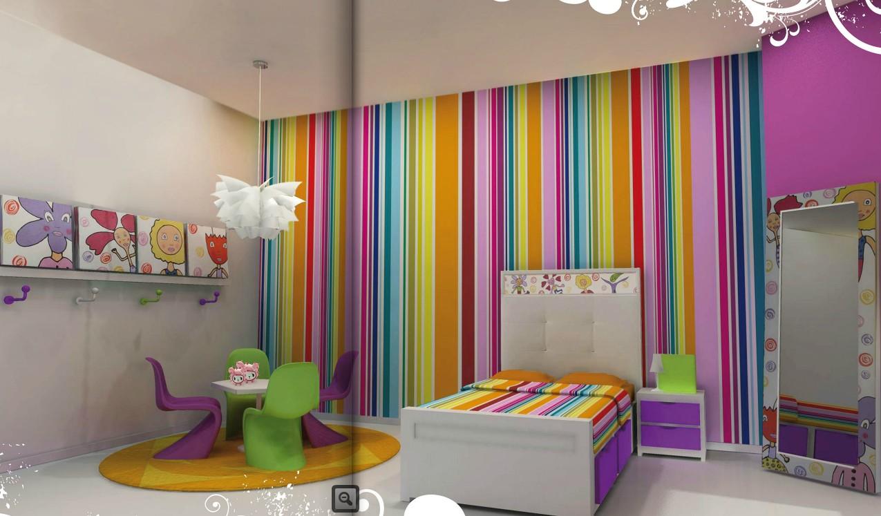 Nuevo mundo habitaciones juveniles - Papeles pintados juveniles ...