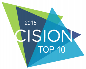 Ranked 7th in the Top 10 Automotive Blogs from Cision UK