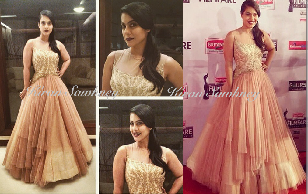 Kajol at 60th Britannia Filmfare awards