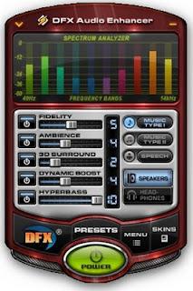 تحميل برنامج تضخيم الصوت وتنقيته للكمبيوتر download dfx audio enhancer