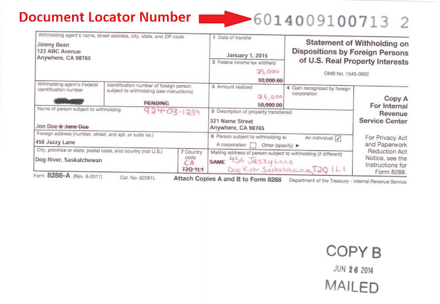 Picture Example Of Dln Or Irs Document Locator Number Borders