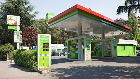 Branding of ERG forecourt