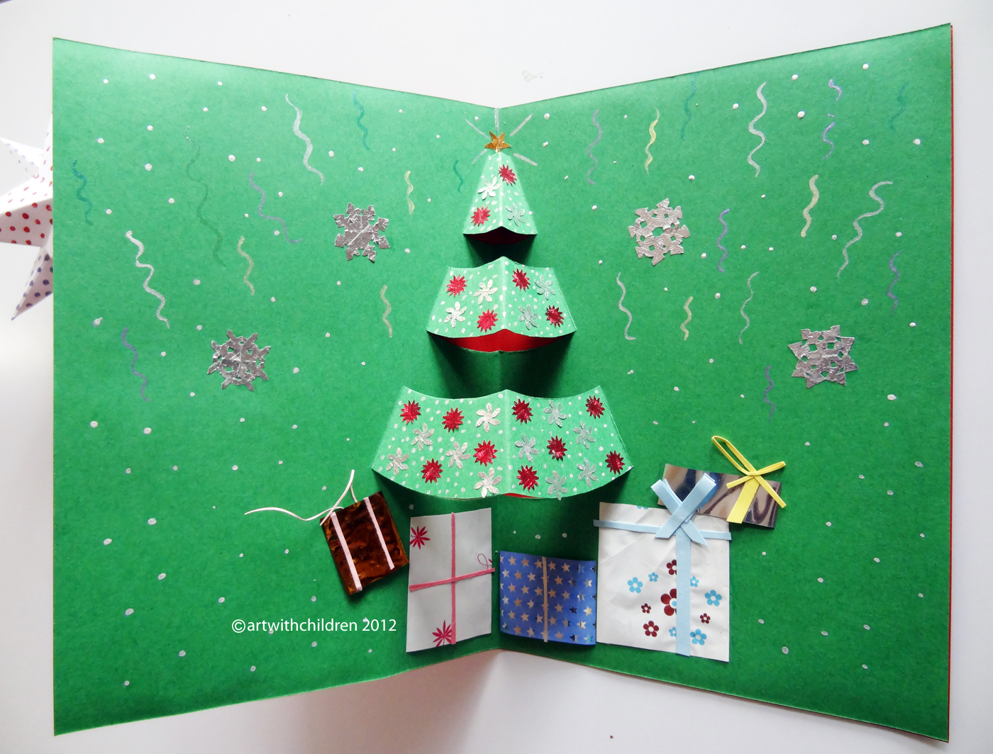 Beautiful Christmas Cards Arts And Crafts Ideas Part - 11: Art With Children