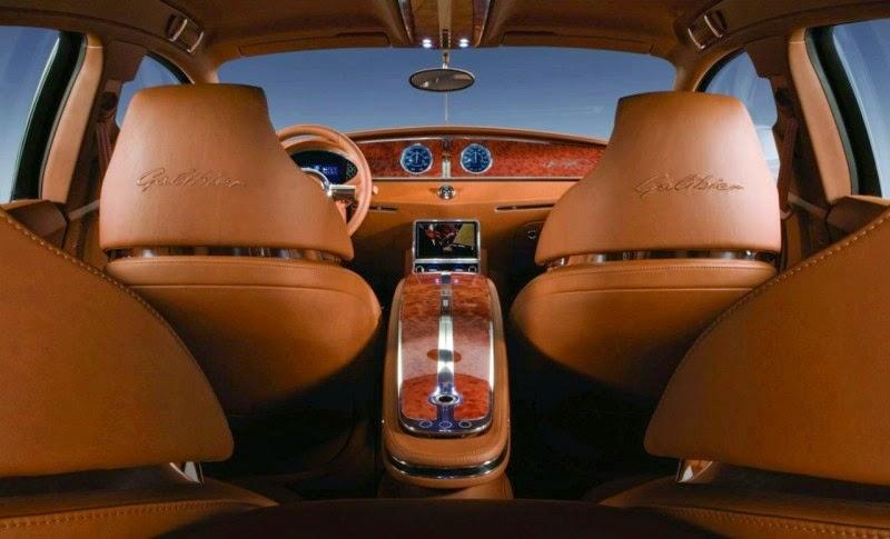 Bugatti Galibier Interior Image