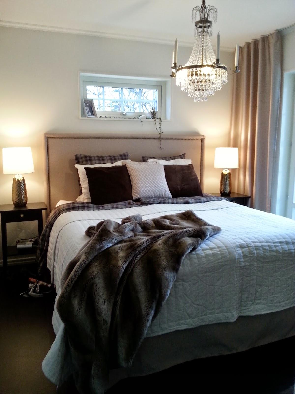 Uppdatering på sovrummet klart! Familjen Alpgård Myresjöhus