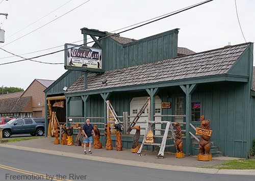 Wood Mill Woodcarvings