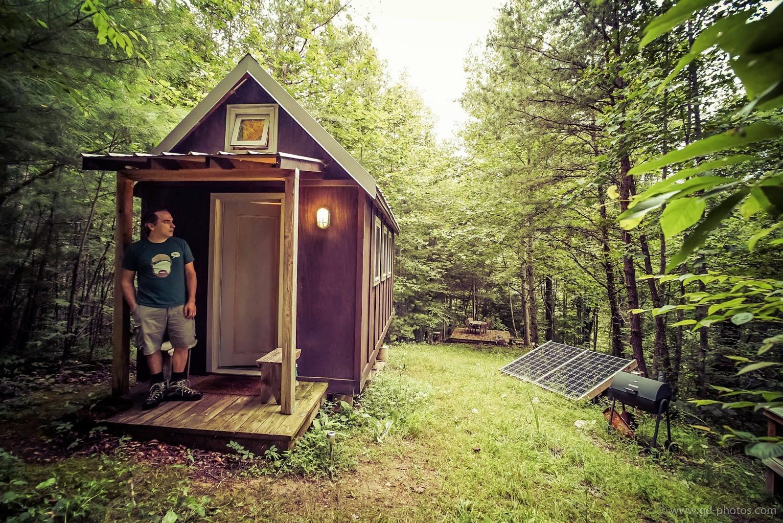 Life in 120 square feet tiny house giant journey 39 s trip for Pictures of tiny houses to live in