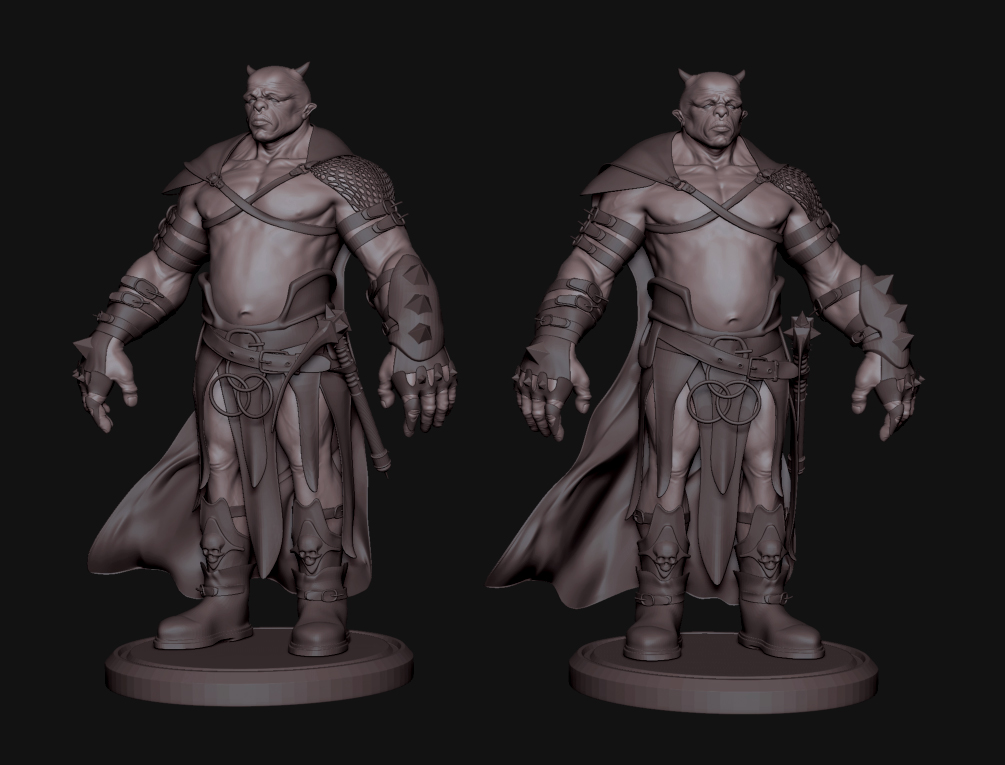 Character Design Zbrush Course : Obbi s sketchbook warrior concept character designs