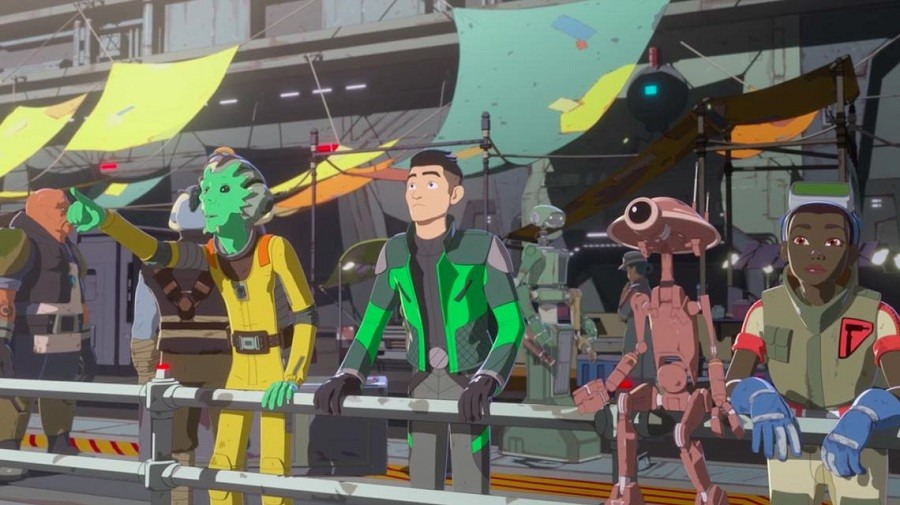 Star Wars Resistance Torrent Imagem