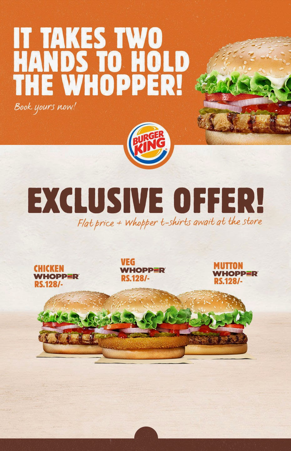 Free T-Shirt with Burger at BurgerKing (Mumbai)