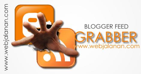 blogger feed grabber