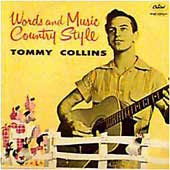 Tommy Collins: Words and Music Country Style (1957)