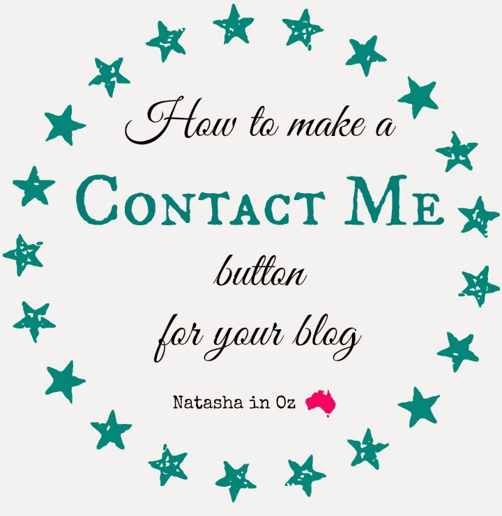Say G'Day Saturday Linky Party {87} ~ Making a 'Contact Me' Button for Your Blog.