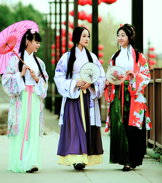 This blog is about traditional chinese clothing i want to introduce
