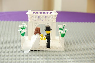 wedding ceremony unity legos